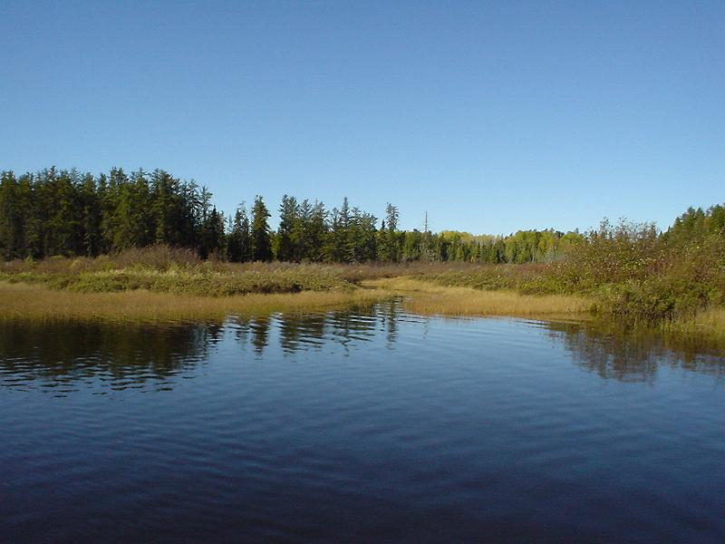 On the chapleau river for Lake sinclair fishing